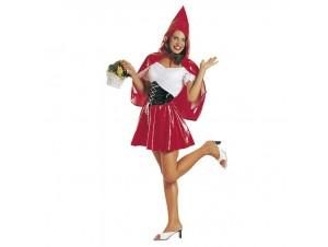Αποκριάτικη στολή Sexy Κοκκινοσκουφίτσα Βινύλ