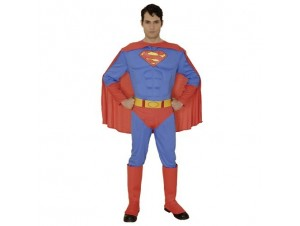 Αποκριάτικη στολή Superman Ενήλικο