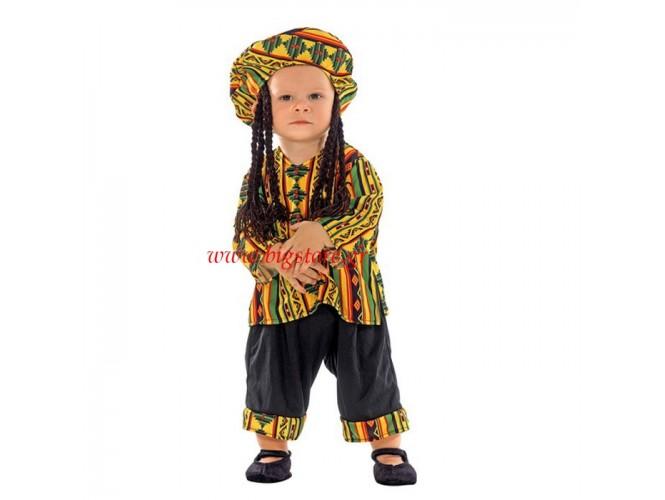 Αποκριάτικη στολή Rasta Man bebe