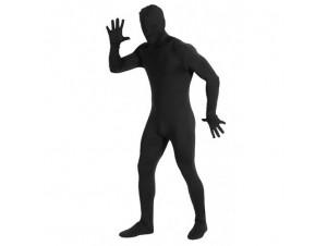 Αποκριάτικη στολή Second Skin Μαύρος