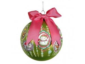 Παιδική Χριστουγεννιάτικη πολύχρωμη μπάλα