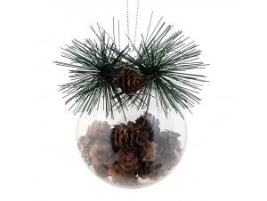 Χριστουγεννιάτικη Μπάλα 10 εκ