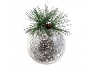 Χριστουγεννιάτικη Μπάλα Πλαστική 8 εκ