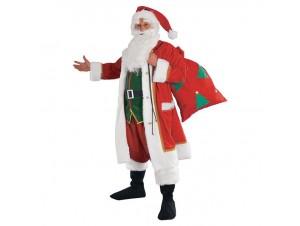 Χριστουγενιάτικη στολή Αγιος Βασίλης με σάκκο
