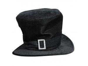 Αποκριάτικο καπέλο Αλίκης με αγκράφα