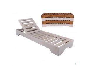 VERANO Ξαπλώστρα Κήπου ξύλινη