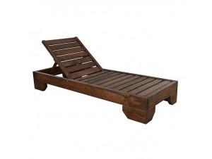 MYKONOS Επαγγελματική Ξαπλώστρα ξύλινη