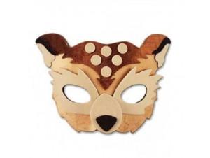 Παιδική μάσκα ζωάκι βελούδινη