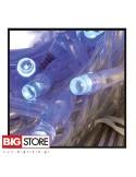 80 LED Μπλε λαμπάκια επεκτεινόμενα ΔΜ