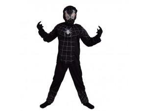 Αποκριάτικη στολή Spiderman Μαύρος