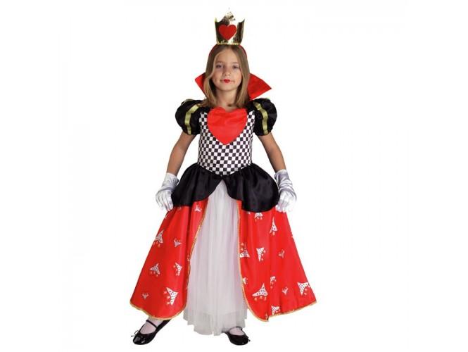Αποκριάτικη στολή Βασίλισσα της Καρδιάς