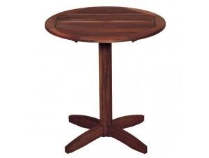 Σταθερό Τραπέζι Ροτόντα Φ 70εκ ξύλινο 913