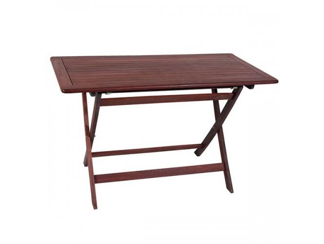 Τραπέζι Κήπου Βεράντας ξύλινο Πτυσσόμενο 916