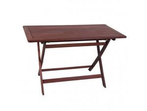 Τραπέζι Κήπου Βεράντας ξύλινο Πτυσσόμενο 917