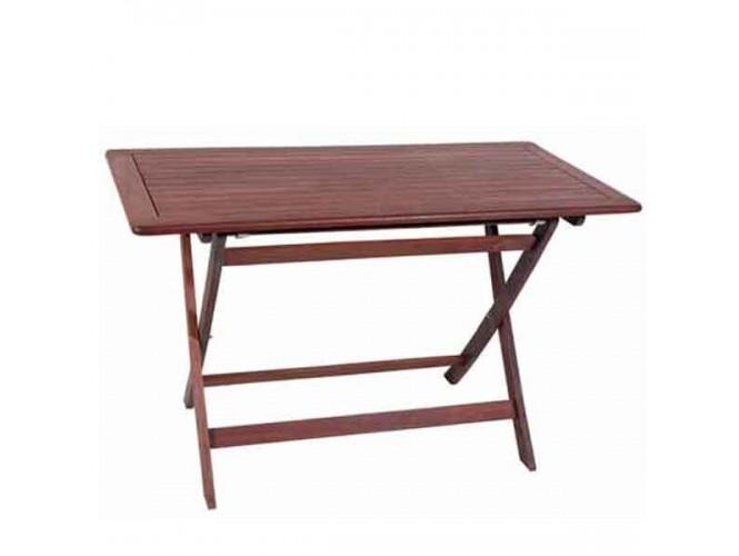 Τραπέζι Κήπου Βεράντας ξύλινο Πτυσσόμενο 918