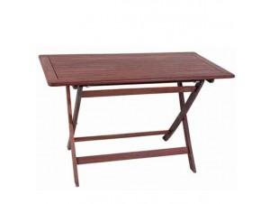 Τραπέζι Κήπου Βεράντας ξύλινο Πτυσσόμενο 919
