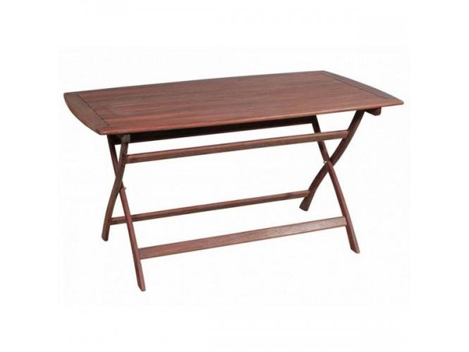 Τραπέζι Κήπου Βεράντας ξύλινο Πτυσσόμενο 920