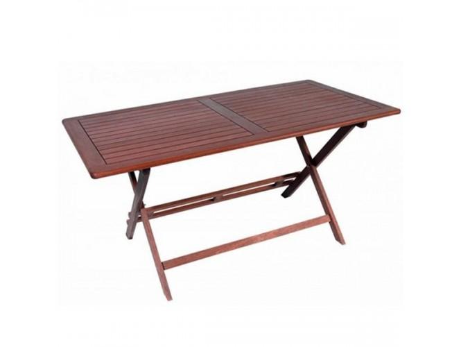 Τραπέζι Κήπου Βεράντας ξύλινο Πτυσσόμενο 921