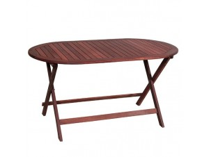Τραπέζι Κήπου Βεράντας ξύλινο Πτυσσόμενο 922