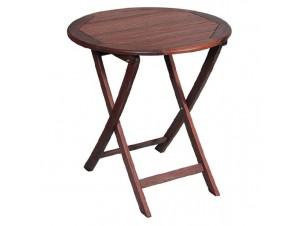 Τραπέζι Ροτόντα Πτυσσόμενη Φ 100 εκ 929