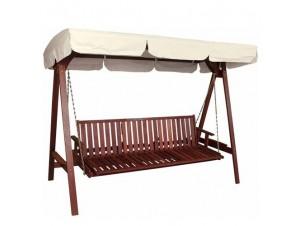 Κούνια / Κρεβάτι ξύλινη Κήπου Βεράντας