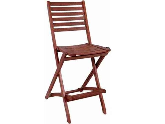 Καρέκλα Κήπου ξύλινη BAR Πτυσσόμενη
