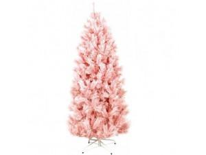 Ροζ χριστουγεννιάτικο Δέντρο SLIM 180 εκατ.