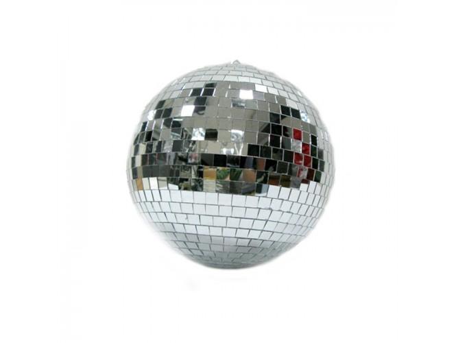 Χριστουγεννιάτικη μπάλα γυάλινη Disco 30 εκ-