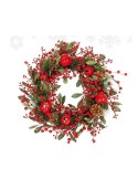 Χριστουγεννιάτικο στεφάνι πευκοβελόνα