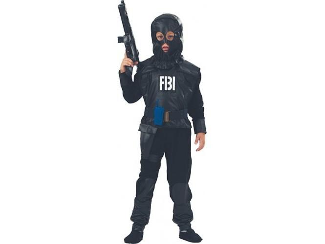 Αποκριάτικη στολή Αγόρι Πράκτορας FBI