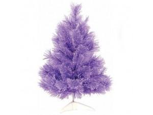 Μωβ χριστουγεννιάτικο Δέντρο 60 εκατ