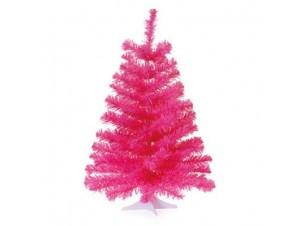 Ροζ χριστουγεννιάτικο Δέντρο 60 εκατ.