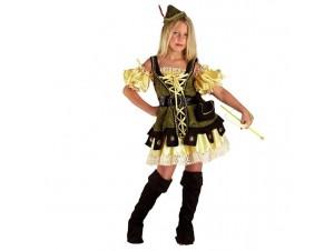 Αποκριάτικη στολή Κορίτσι Ρομπέν Των δασών