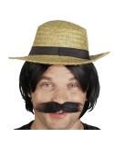 Αποκριάτικο καπέλο Ψάθινο