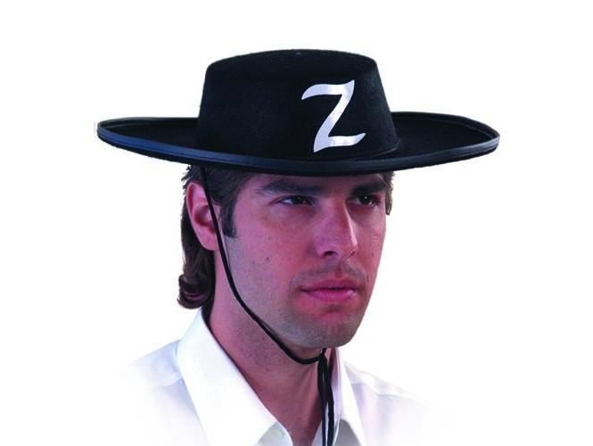 Αποκριάτικο καπέλο Ζορό