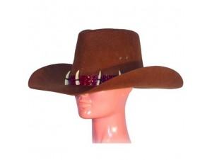 Αποκριάτικο καπέλο κυνηγού καφέ