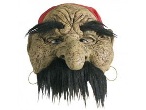 Latex μάσκα Πειρατής