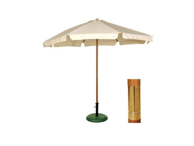 Ομπρέλα Ξύλινη Στρογγυλή