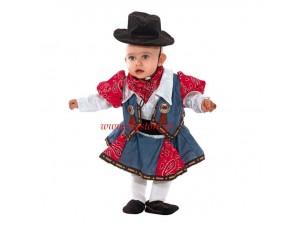 Αποκριάτικη στολή Καπουμπόισσα bebe