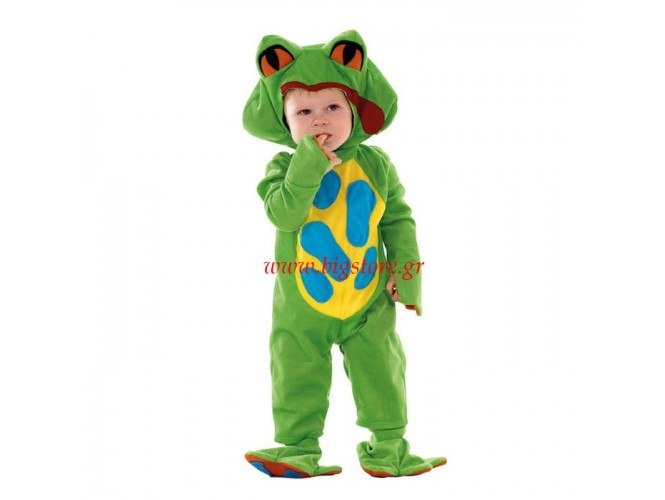 Αποκριάτικη στολή Βατραχάκι bebe