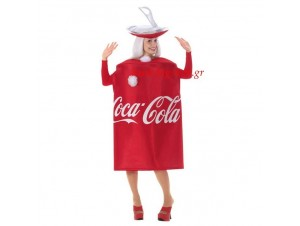 Αποκριάτικη στολή Coca Cola