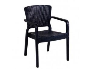 Πολυθρόνα κήπου Resin ANTARES