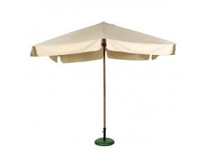 Ομπρέλα Ξύλινη Τετράγωνη