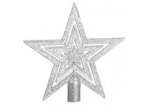 Κορυφή δέντρου Αστέρι Ασημί