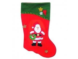 Χριστουγεννιάτικη κάλτσα κρεμαστή