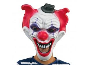 Αποκριάτικη Μάσκα Latex Κλόουν τρόμου