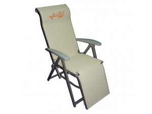 Πολυθρόνα - ξαπλώστρα αλουμινίου με ανάκλιση