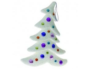 Χριστουγεννιάτικο χιονισμένο δέντρο