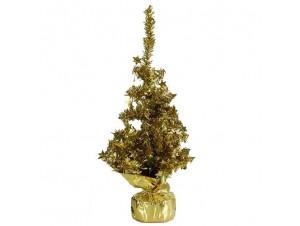 Χρυσό χριστουγεννιάτικο Δέντρο 34 εκ.