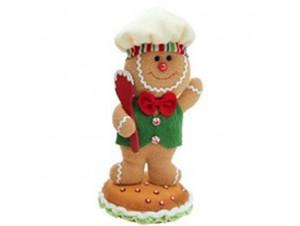 Χριστουγεννιάτικος Λούτρινος Μάγειρας 28 εκ